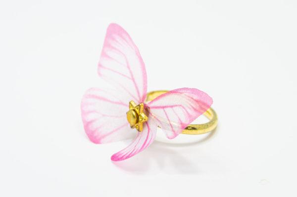 パピヨンリング(ピンク)